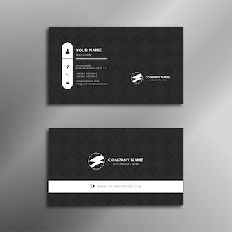 Design de cartão de visita elegante profissional