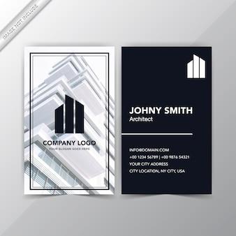 Design de cartão de visita profissional e criativo