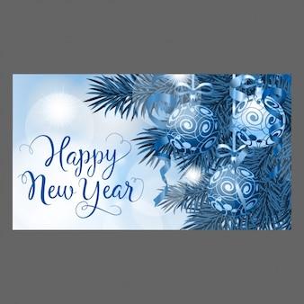 Design de cartão do ano novo