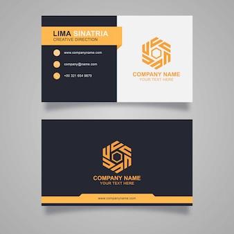 Design de cartão elegante