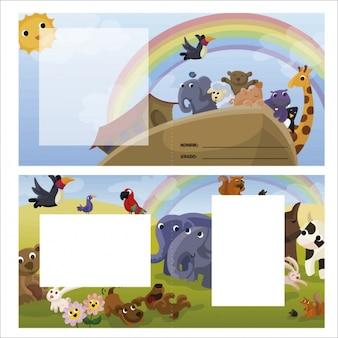 Design de cartão infantil