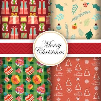 Design de cartão perfeito com ícones de feliz natal
