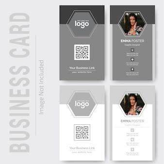 Design de cartão pessoal