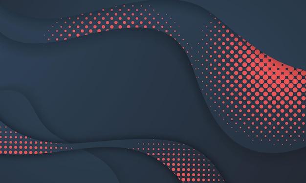 Design de cartão postal ou capa de brochura com formas modernas abstratas