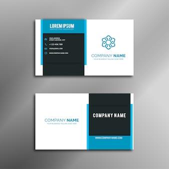 Design de cartão profissional elegante