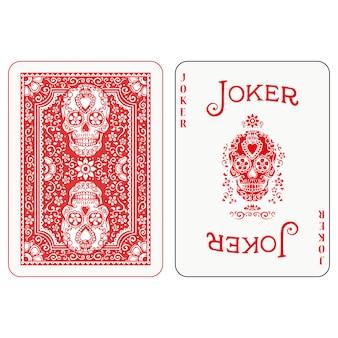 Design de cartas de jogar pôquer