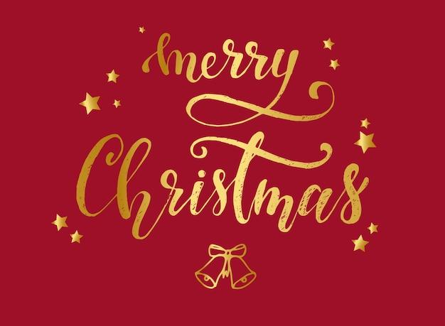 Design de cartaz de cartão feliz natal