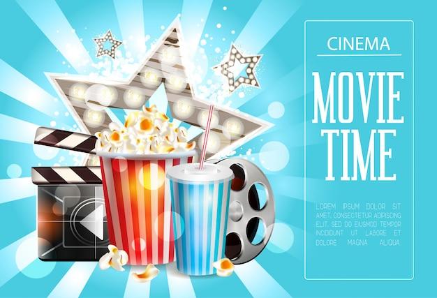 Design de cartaz de cinema