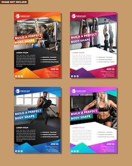 Design de cartaz de layout