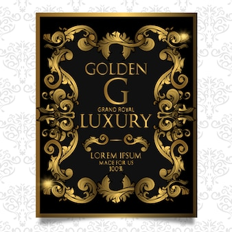 Design de cartaz de luxo