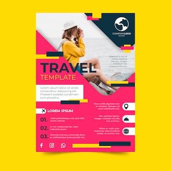 Design de cartaz de viagens
