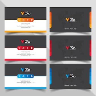 Design de cartões de visita