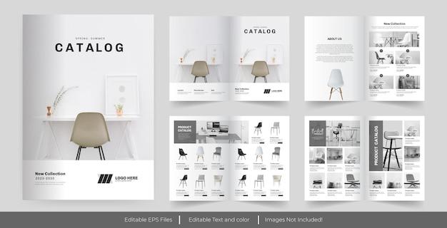 Design de catálogo de produtos