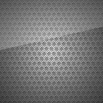 Design de chapa perfurada de superfície metálica