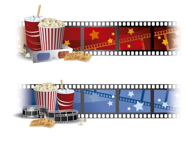 Design de cinema de fundo