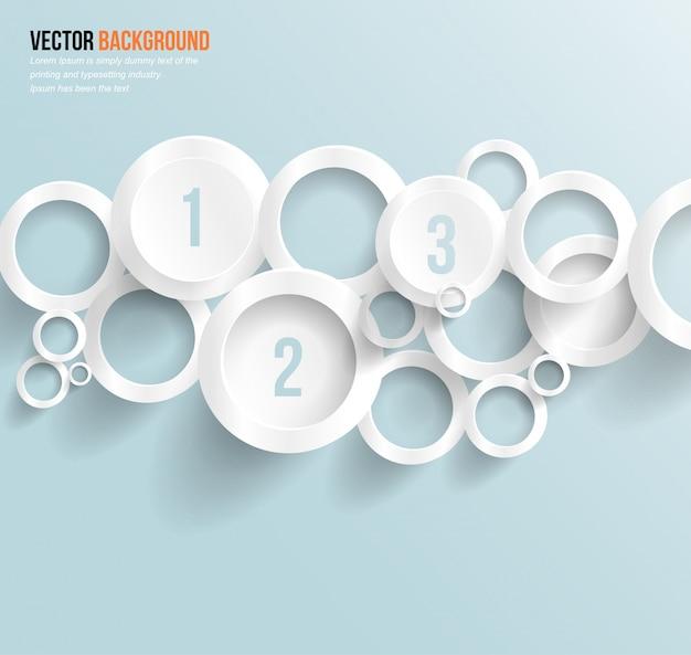 Design de círculo vetorial