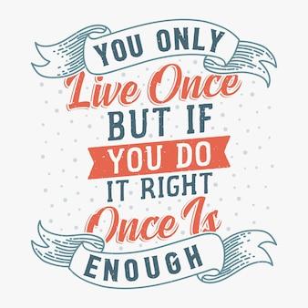 Design de citações inspiradas