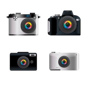 Design de coleção de câmera