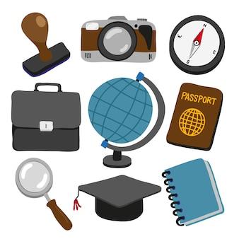 Design de coleta de viagens