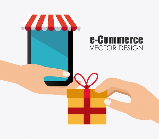Design de comércio eletrônico