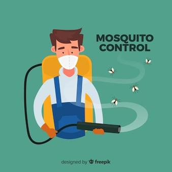 Design de controle do mosquito