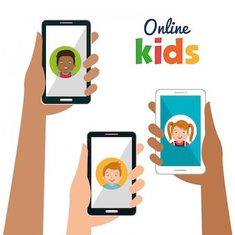 Design de crianças online