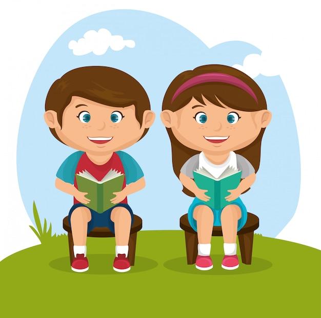 Design de crianças pequenas