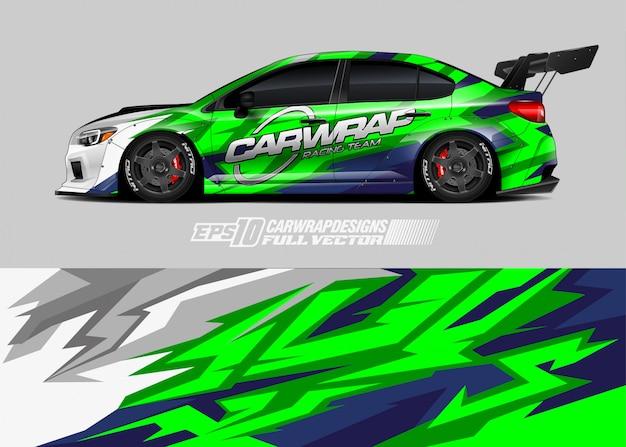 Design de decoração do carro