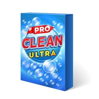 Design de detergente em pó