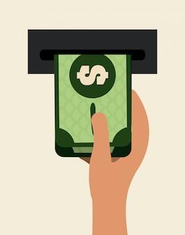 Design de dinheiro