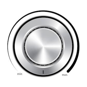 Design de discagem de controle de volume