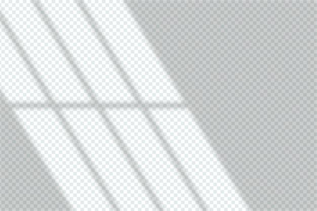 Design de efeito de sobreposição de sombras cinza