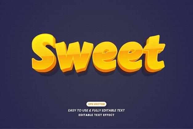 Design de efeito de texto editável