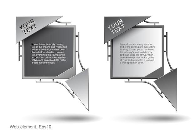 Design de elementos da web, construção moderna