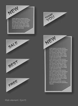 Design de elementos da web