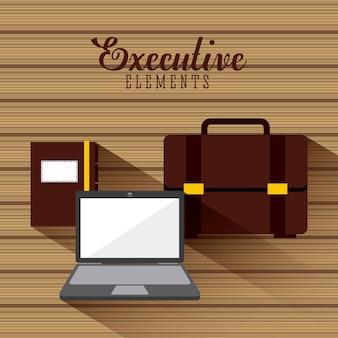 Design de elementos de negócios, gráfico de vetor ilustração eps10