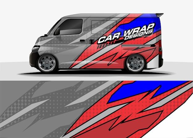 Design de embalagem de carro editável