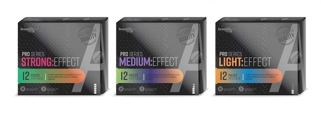 Design de embalagem de preservativo