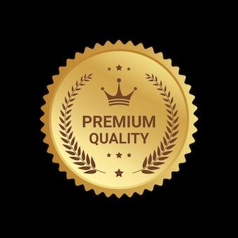 Design de emblemas de logotipo de qualidade premium