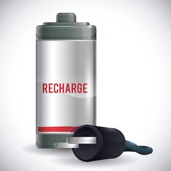 Design de energia da bateria.