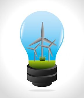 Design de energia eco.