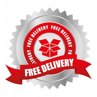 Design de entrega gratuita.