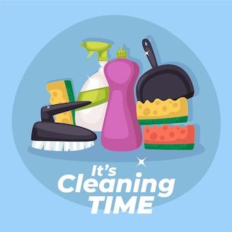 Design de equipamentos de limpeza de superfícies