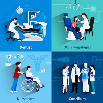Design de especialistas médicos