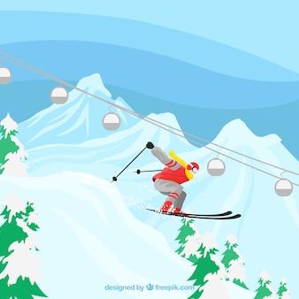 Design de esqui