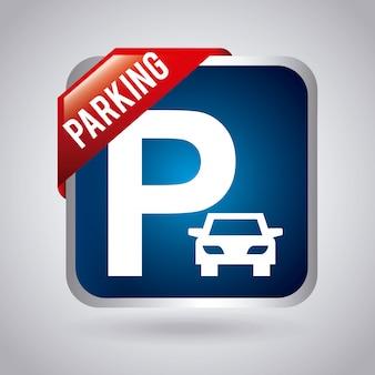 Design de estacionamento