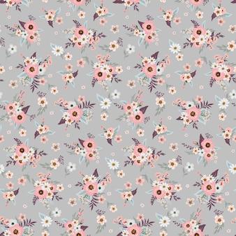 Design de estampa floral de moda para vestido de mulher primavera, verão