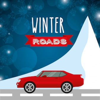 Design de estradas de inverno