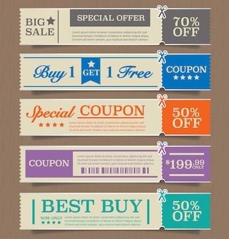 Design de etiquetas de preço