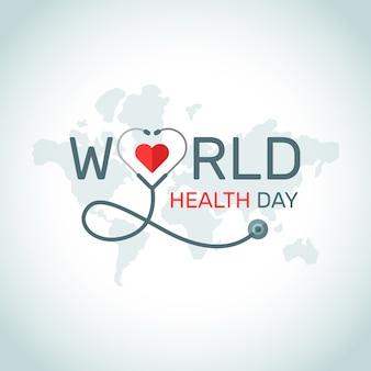 Design de eventos do dia mundial da saúde